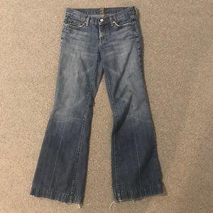 7FAM Dojo wide leg trousers jeans